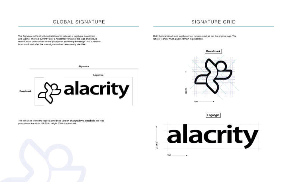 Simple Brand Guidelines Template For Your Tech Start-up | Wesley