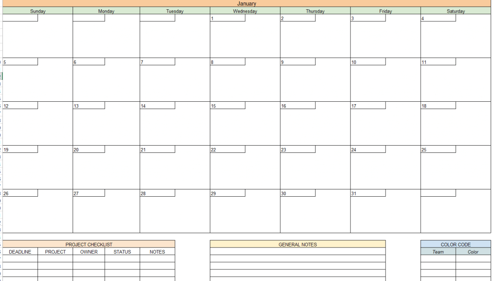 Wordpress, CoSchedule - Marketing Content Calendar Template